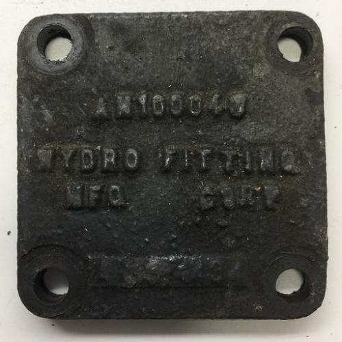 P/N: AN100043, Access Cover, As Removed RR M250, ID: D11