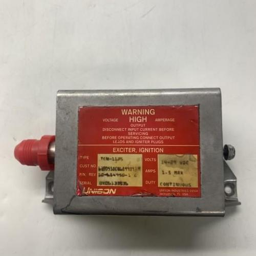 P/N: 6899093, Ignition Exciter Assembly, S/N: UY06133536, As Removed RR M250, ID: D11