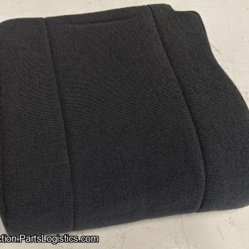 PN: PBM-58-101, Bell 206 Black Cloth Pilot Seat Bottom, New, ID: D11
