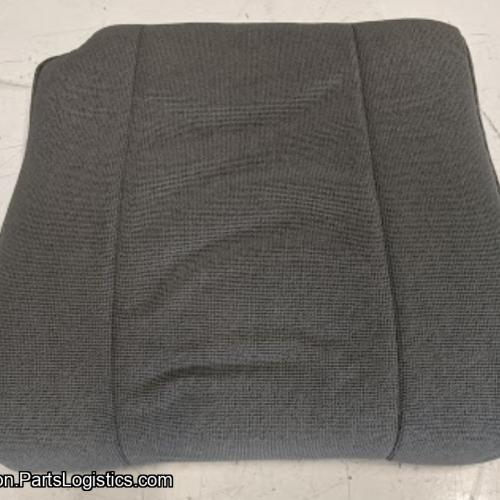 PN: CPBM-58-103, Bell 206 Gray Cloth Copilot Seat Bottom, New, ID: D11
