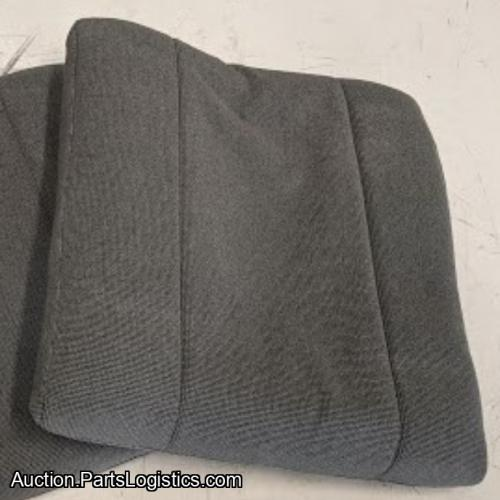 PN: PBK-58-102, Bell 206 Pilot Seat Back, Grey Cloth, New, ID: D11