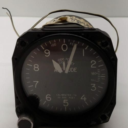 As Removed BH Indicator Altimeter, P/N: 5934-1, S/N: 12553