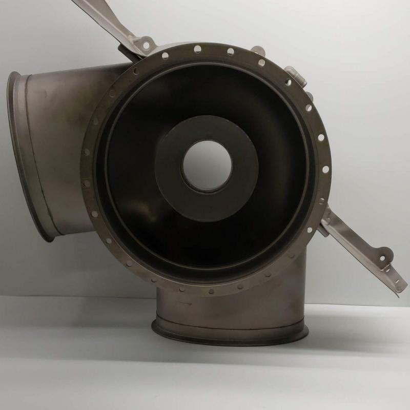 As Removed, Rolls-Royce M250, Turbine & Exhaust Collector Support Assembly, P/N: 6879879, S/N: 17052, ID: AZA