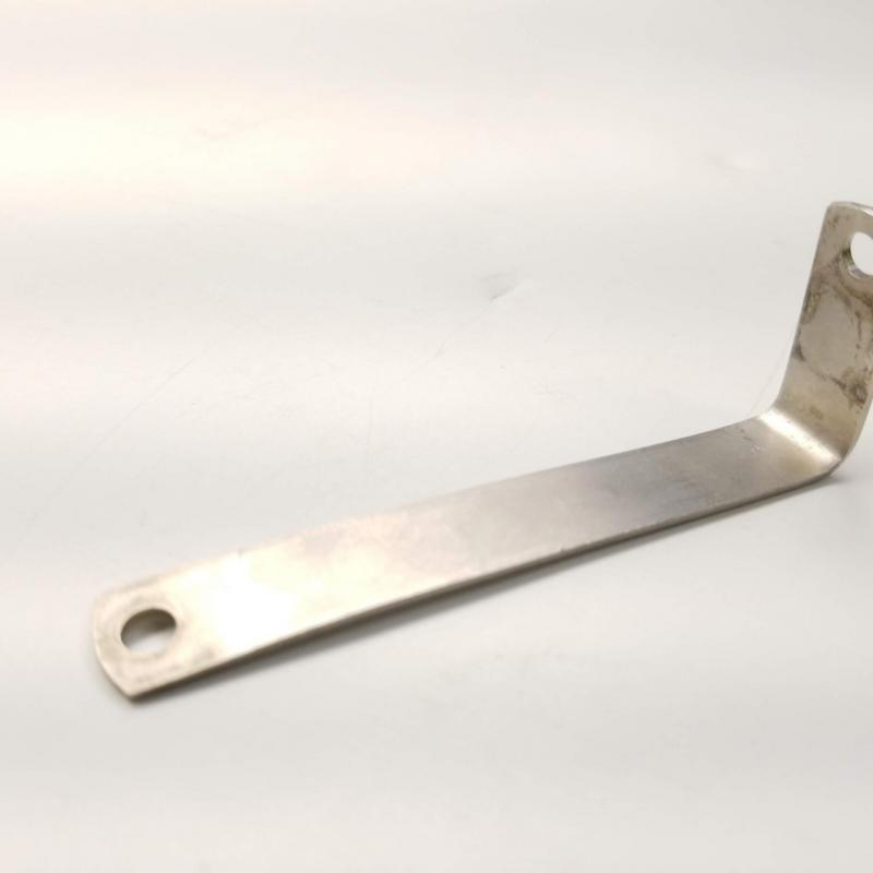 As Removed Rolls-Royce M250, 90-Degree Angle Bracket, P/N: 23001843