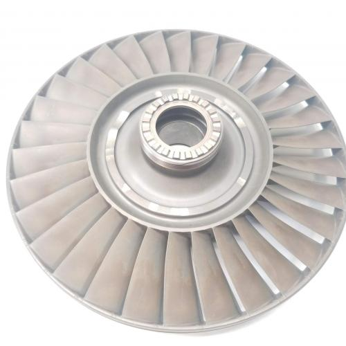 P/N: 6853279,  4th Stage Turbine Wheel, S/N: HX62212, Serviceable, OEM Approved RR M250, ID: CSM