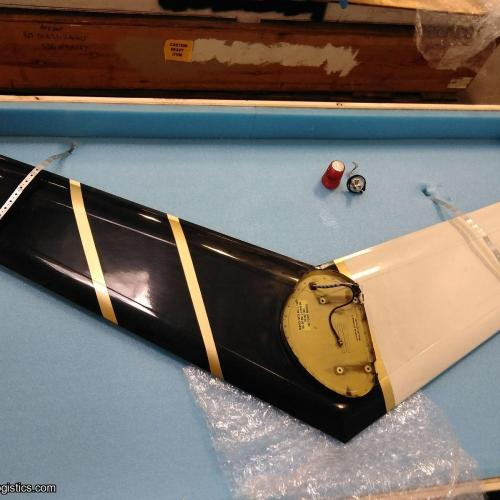 P/N: 206-020-113-231, Vertical Fin, SV, Bell Helicopter, Bell 206