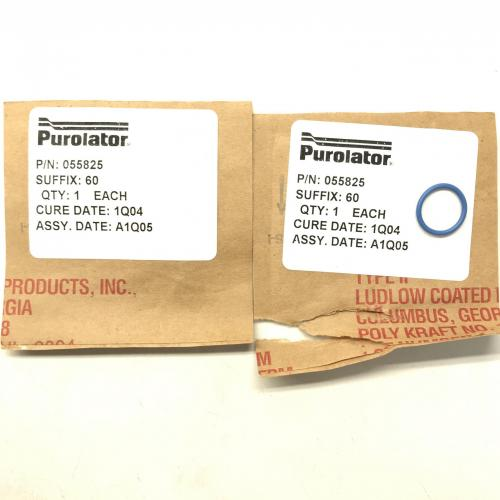 New OEM Approved Purolator, Packing, P/N: 055825, ID: CSM