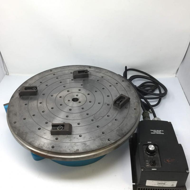 Bourn & Koch Electric Turn Table, P/N: 715-V-LAB, S/N: 6619 - Used