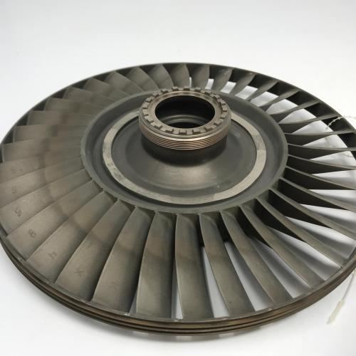 P/N: 6889054, 4th Stage Turbine Wheel, S/N: HX48658, Serviceable RR M250, ID: AZA