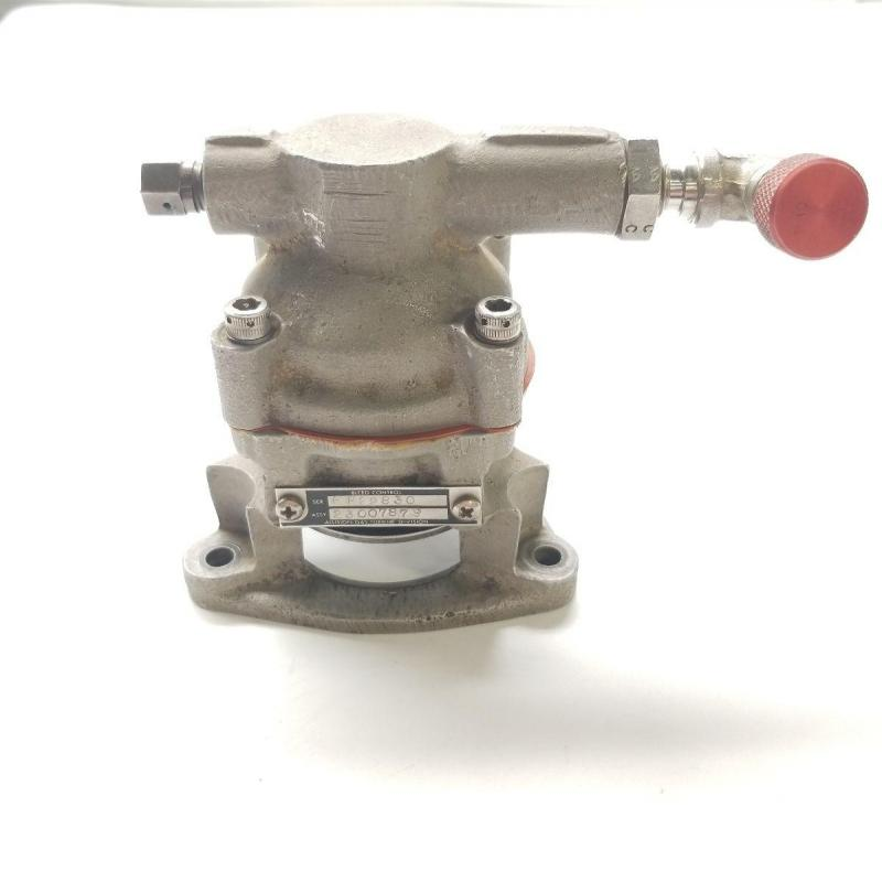 P/N: 23007879, Bleed Valve Assembly, S/N: FF22830, As Removed, RR M250, ID: D11