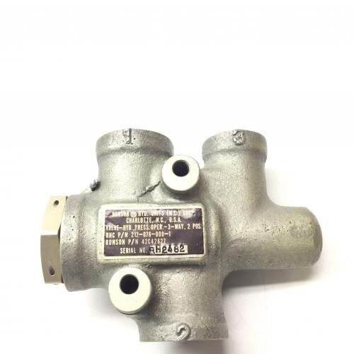 P/N: 212-076-008-001, Valve Assembly, S/N: RH2482, Serviceable BH, ID: D11