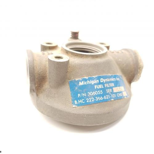 P/N: 306055, Fuel Filter, S/N: 111, As Removed, BH (PMA Michigan Dynamics Inc.) , ID: D11