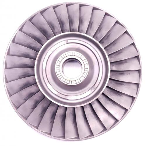 PN: 6853279, 4th Stage Turbine Wheel, SN: HX51099, Serviceable, RR M250, TR: 1024.6, ID: D11