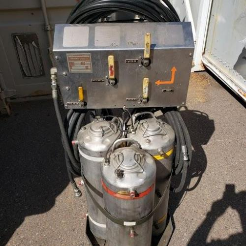P/N: LTCT29200-01, S/N: 95M001, Portable Cleaning Unit, Used, Allied Signal Inc (Honeywell), ID: D11