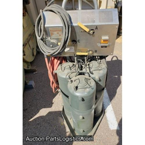 P/N: LTCT29200-01, S/N: 95M002, Portable Cleaning Unit, Used, Allied Signal Inc (Honeywell), ID: D11