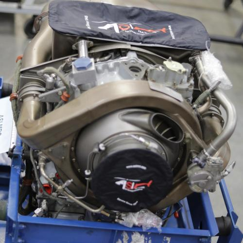 PN: 23063392, C47B Turbine Engine, SN: CAE-844027, Serviceable, Rolls-Royce (With ECU & Shipping Can), ID: D11