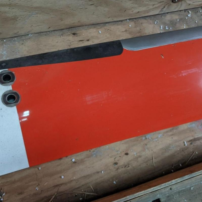 P/N: 430-015-001-101, Main Rotor Blade, SN: A-398, SV, Bell Helicopter, TR: 7920