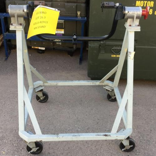 PN: 6795579/6891188, All Series Engine Maintenance Stand, Used RR M250, ID: D11