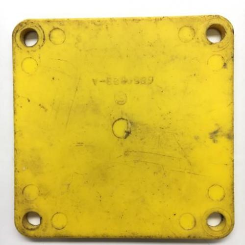P/N: 6859823-A, Starter and Generator Gearbox Pad Protection Cover, As Removed, RR M250, ID: D11